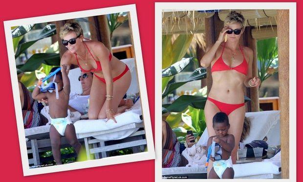 Σαρλίζ Θερόν: Διακοπές στη Χαβάη με τον γιο της! (φωτογραφίες)