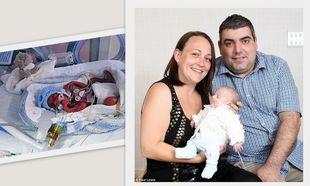 Γεννήθηκε στις 23 εβδομάδες κύησης και τώρα πάει σπίτι του!