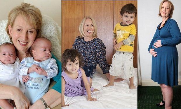 Η γηραιότερη μητέρα σε δίδυμα από εξωσωματική μιλάει πρώτη φορά για τη νέα της ζωή!