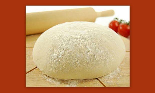 Συνταγή για σπιτική ζύμη πίτσας!