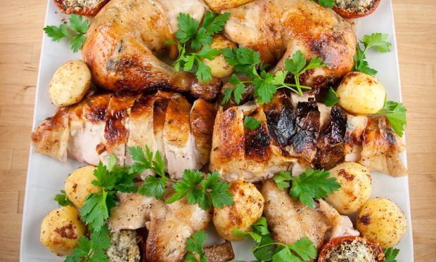 Συνταγή για το πιο νόστιμο κοτόπουλο σχάρας!