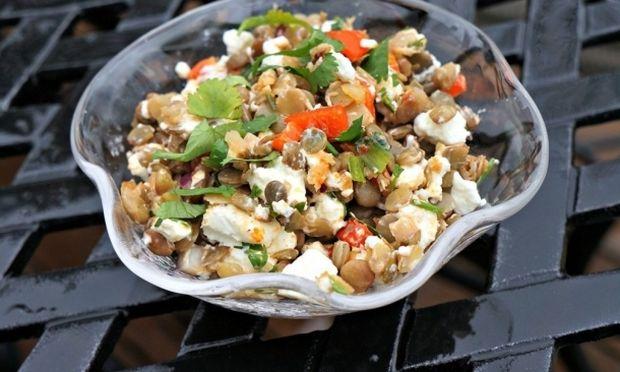 Συνταγή για θεϊκή σαλάτα με… φακές!