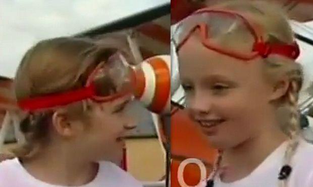 Οι πιο μικρές κασκαντέρ είναι μόλις εννέα ετών! (βίντεο)