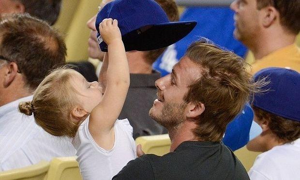 Ντέιβιντ Μπέκαμ: Απολαυστικά στιγμιότυπα με την κόρη του! (εικόνες)