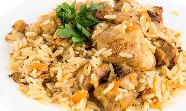 Συνταγή για λαχταριστό ριζότο με κοτόπουλο