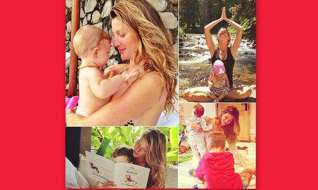 «Βασίλισσα» του instagram η μανούλα Ζιζέλ! (εικόνες)