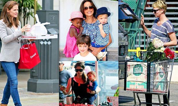 Διάσημες μαμάδες: Κάνουν ό,τι και εμείς! (φωτογραφίες)