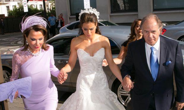 Γιάννα Αγγελοπούλου: Πάντρεψε την κόρη της στο Λονδίνο! (φωτογραφίες)
