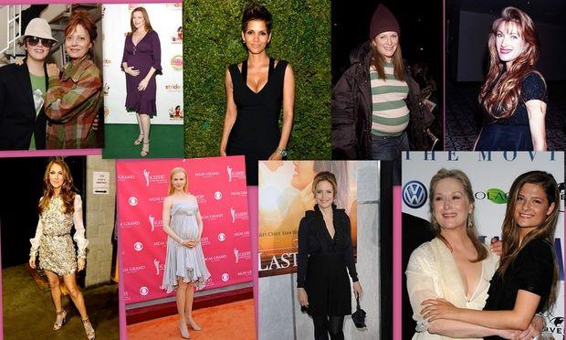 Διάσημες που έγιναν μαμάδες μετά τα 40! Οι ιστορίες τους!
