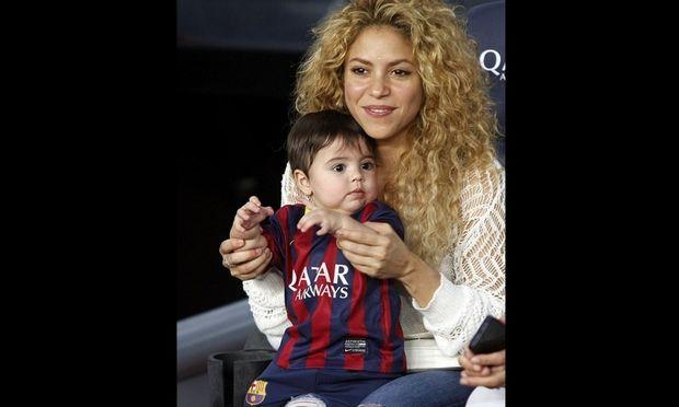 Ο γιος του Πικέ με την εμφάνιση της Μπαρτσελόνα!