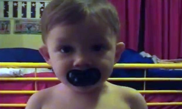 Αυτό είναι το μωρό κουμπαράς! (βίντεο)