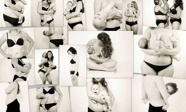 Η μαγεία του σώματος μετά τη γέννα! Μπορεί να αλλάζει αλλά εξακολουθεί να είναι υπέροχο (εικόνες)