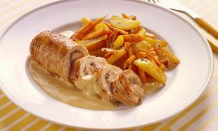 Συνταγή για απίθανο γεμιστό ρολό κοτόπουλο!