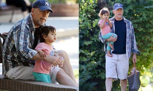Μπρους Γουίλις: Ξέγνοιαστες στιγμές με την 17 μηνών κόρη του! (φωτογραφίες)