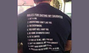 Ο ξεκαρδιστικός δεκάλογος ενός μπαμπά στο αγόρι της κόρης του!