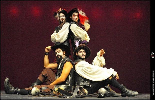 «Οι τρεις Σωματοφύλακες» του Αλεξάνδρου Δουμά στη σκηνή του Κρατικού Θεάτρου Βορείου Ελλάδος