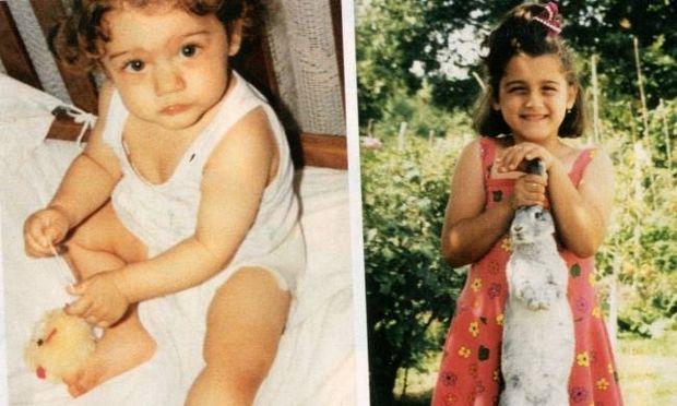 Ποιο είναι το γλυκό κοριτσάκι με τo κουνελάκι στο χέρι;