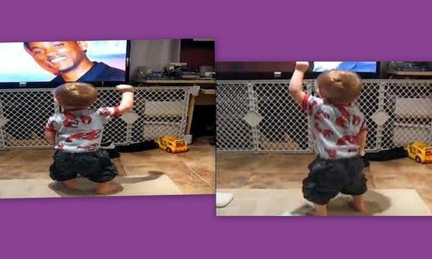 Χορευτής από κούνια! (βίντεο)