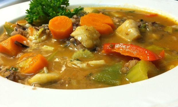 Συνταγή για γρήγορη σούπα βελουτέ με ψάρι και λαχανικά!