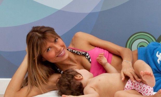 Σάντυ Κουτσοσταμάτη: «Συνεχίζω να θηλάζω την δύο ετών κόρη μου!», αποκλειστικά στο Mothersblog.gr