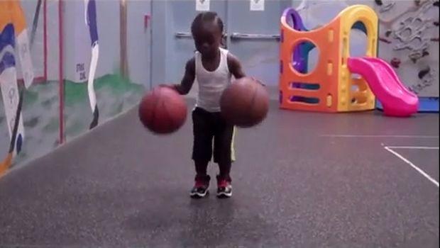 Αυτός ο μικρός μπασκετμπολίστας θα σας ξετρελάνει! (βίντεο)