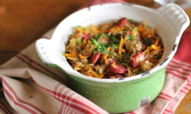 Συνταγή για φανταστικό κρεατάκι με λάχανο!