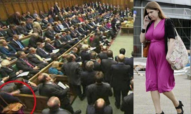 Άφησαν όρθια την 7 μηνών έγκυο Υπουργό στο Βρετανικό Κοινοβούλιο!