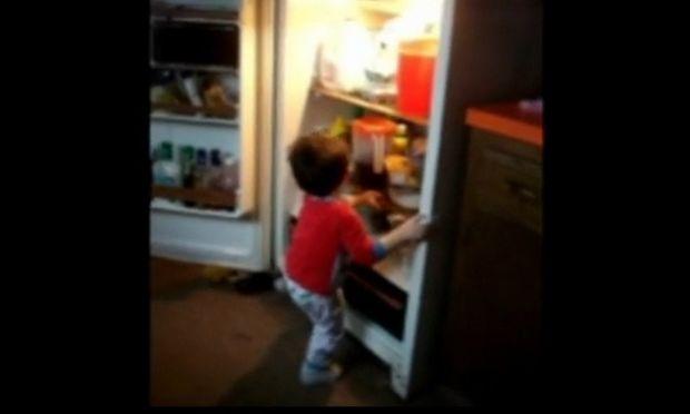 Ο… καπετάν φασαρίας και το ψυγείο! (βίντεο)