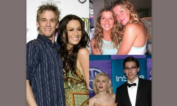 Οι celebrities και τα δίδυμα αδέλφια τους
