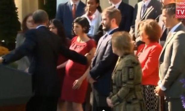 Ο Ομπάμα βοήθησε έγκυο διαβητική που κατέρρεε! (βίντεο)