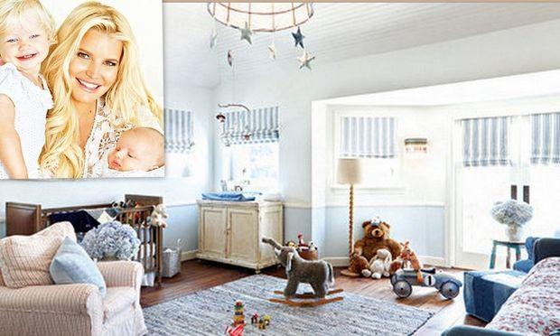 Αυτό είναι το παιδικό δωμάτιο του γιου της Τζέσικα Σίμπσον!