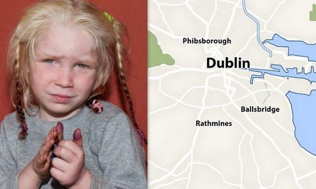 Νέα διάσταση στην υπόθεση της Μαρίας: Και άλλο ξανθό κοριτσάκι βρέθηκε σε καταυλισμό Ρομά, αυτή τη φορά στο Δουβλίνο!