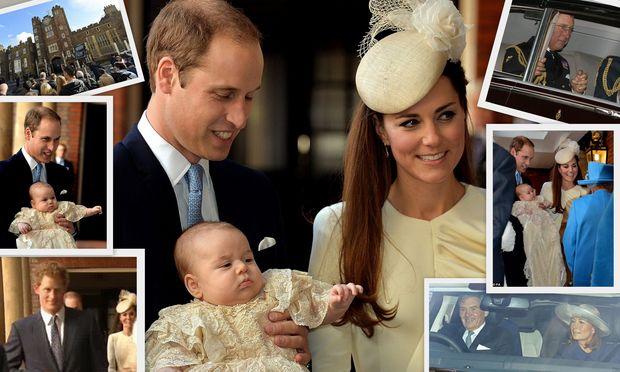 H βάφτιση του μικρού πρίγκιπα Γεώργιου σε φωτογραφίες!