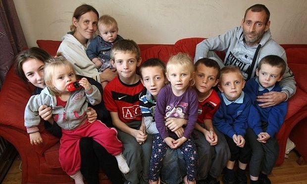 Πατέρας 9 παιδιών παραδέχεται πως θα έκλεβε αν δεν έπαιρνε επίδομα πολυτέκνων από το κράτος!
