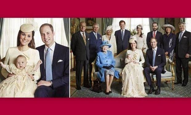 Κέιτ Μίντλετον-Πρίγκιπας Γουίλιαμ: Οι πρώτες επίσημες οικογενειακές φωτογραφίες από την βάπτιση του γιου τους