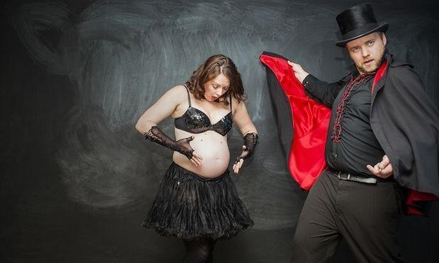 Η μαγεία της γέννησης ενός μωρού! (χιουμοριστική έκδοση)