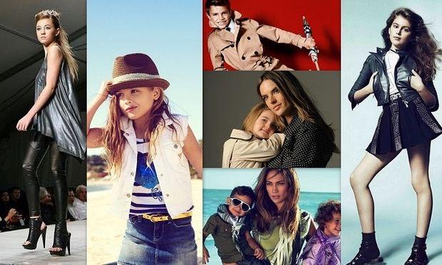 Δείτε παιδιά διάσημων γονιών να ποζάρουν ως επαγγελματίες μοντέλα! (φωτογραφίες)