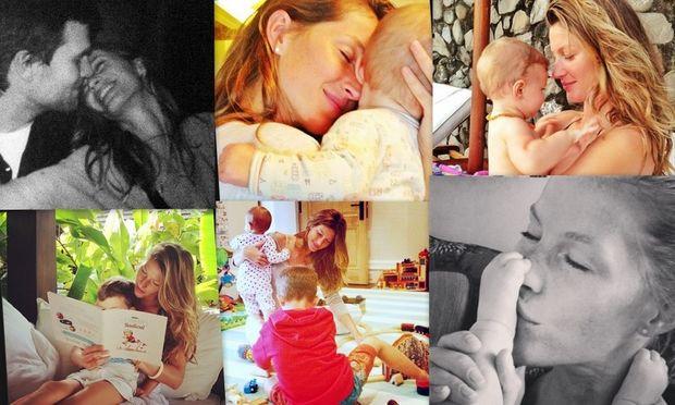 Ζιζέλ: Μία πανέμορφη, ερωτευμένη μαμά σε προσωπικές οικογενειακές στιγμές! (φωτογραφίες)