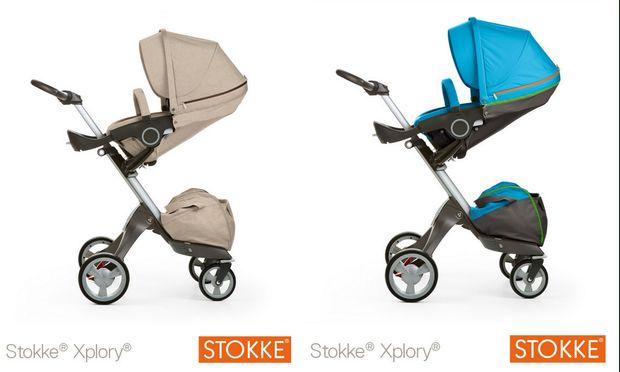 Τα καροτσάκια Stokke σε νέα απίθανα χρώματα!