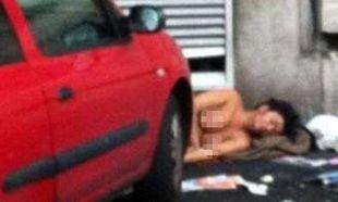 Βρέθηκε κοιμισμένη και γυμνή σε κεντρικό δρόμο του Μιλάνου και κανείς δεν ενδιαφέρθηκε
