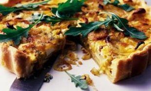 Συνταγή για πεντανόστιμη πίτα με πατάτες και μανιτάρια!
