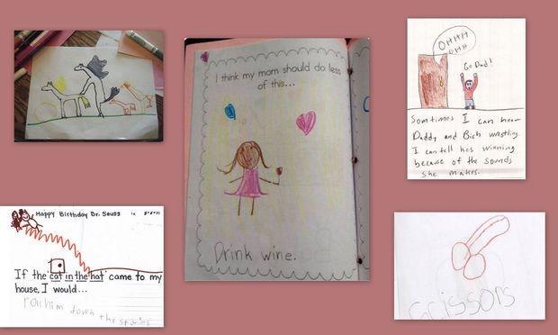 «Μαμά! Κοίτα τι ζωγράφισα!». Οταν τα παιδιά, μας φέρνουν σε δύσκολη θέση (εικόνες)