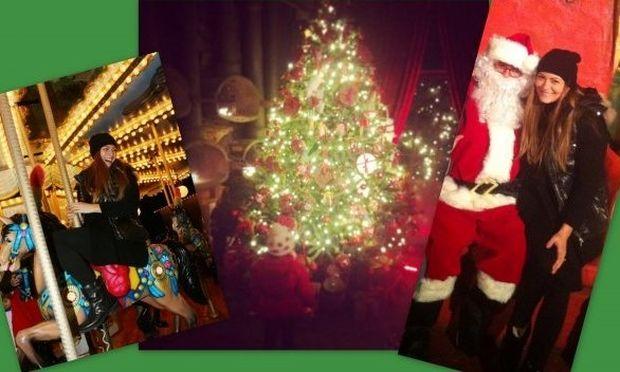 «14 μέρες για τα Χριστούγεννα!», γράφει η Δέσποινα Καμπούρη