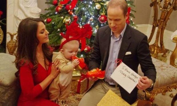 Τα πρώτα Χριστούγεννα του γιου της Κέιτ Μίντλετον και του πρίγκιπα Γουίλιαμ!
