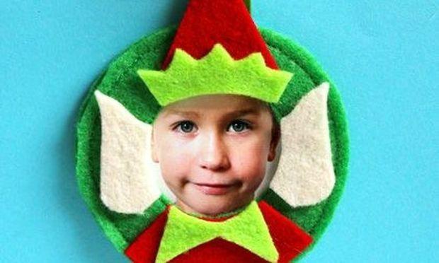 Φτιάξτε διακοσμητικό ξωτικό με το πρόσωπο του παιδιού σας!