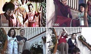 Εικοσιπέντε χρόνια Χριστούγεννα, μέσα από την κάμερα του μπαμπά! (βίντεο)