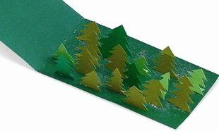 Φτιάξτε εύκολα Χριστουγεννιάτικη 3D κάρτα
