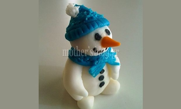 My cakes - My hobby! Φτιάχνουμε τον ολόδικο μας ζαχαρωτό χιονάνθρωπο!