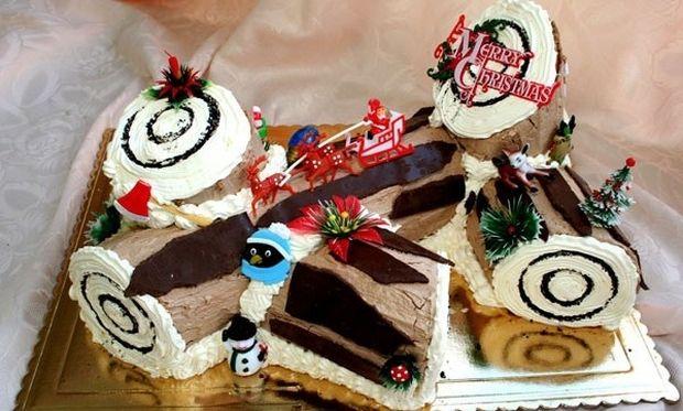 Οι πιο λαχταριστοί χριστουγεννιάτικοι κορμοί! (εικόνες)