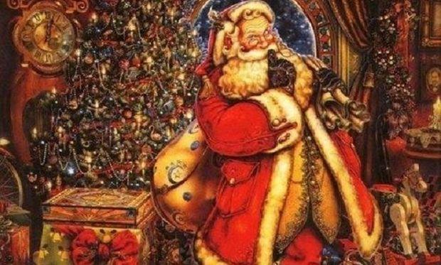 Η ιστορία του Άγιου Βασίλη-Πώς έφτασε να πάρει την σημερινή του μορφή!
